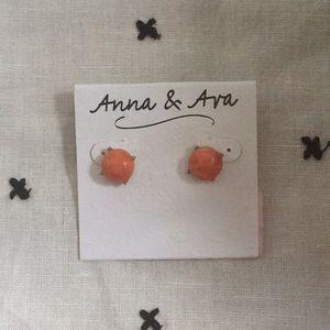 Anna & Ava Stud Earrings
